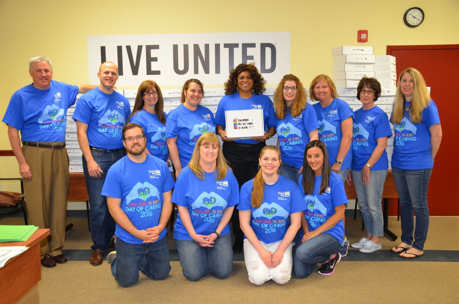 United Way of Wyoming Valley has sponsored its annual Day of Caring. See these great volunteers at work!