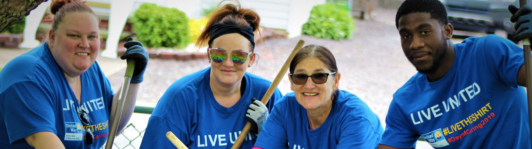 United Way of Wyoming Valley - Day of Caring - Get Involved