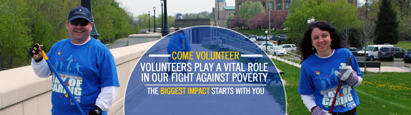 Volunteer to help the United Way today!